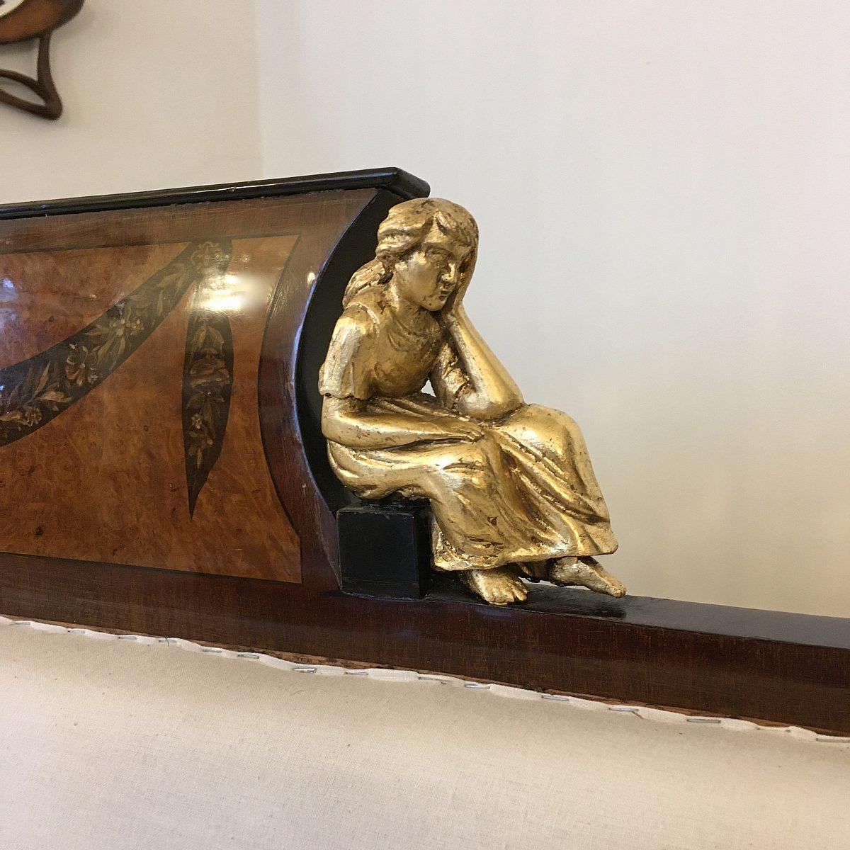 HM Frühbiedermeier Sitzbank Detail4