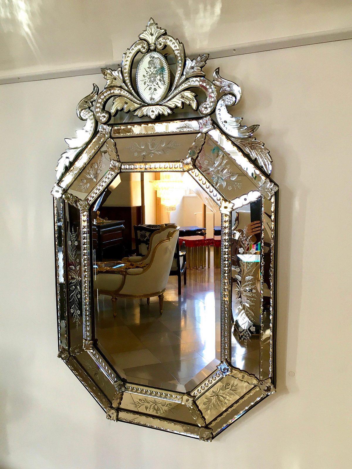 HM oktogonaler Spiegelgesamt