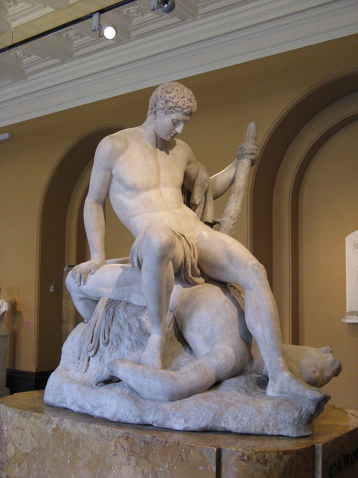 Antonio Canova Theseus and the Minotaur Victoria and Albert Museum