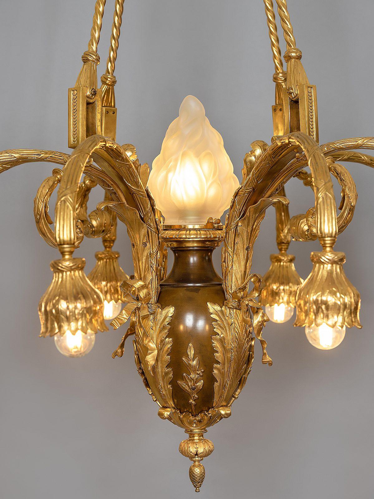 HM Vergoldeter Bronzeluster D2aneu