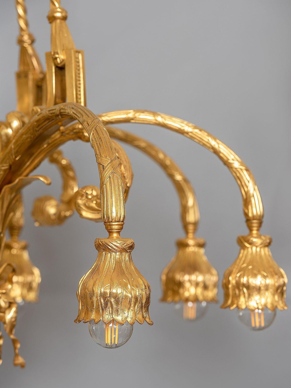 HM Vergoldeter Bronzeluster D2neu