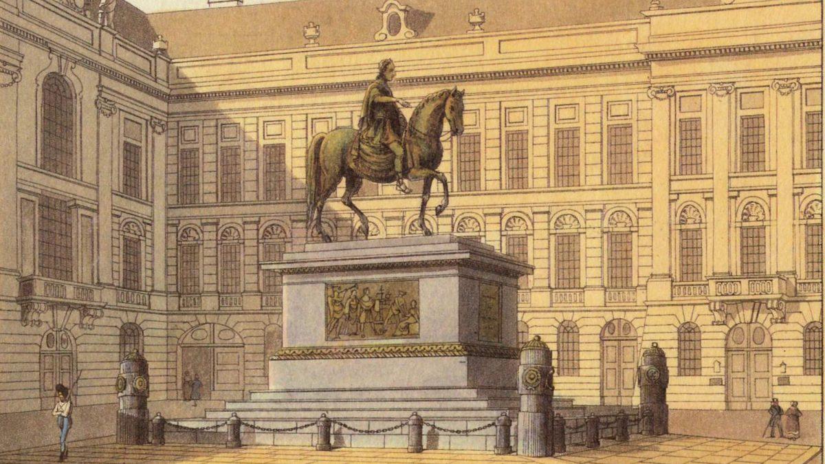 Stich Reiter Josefsplatz