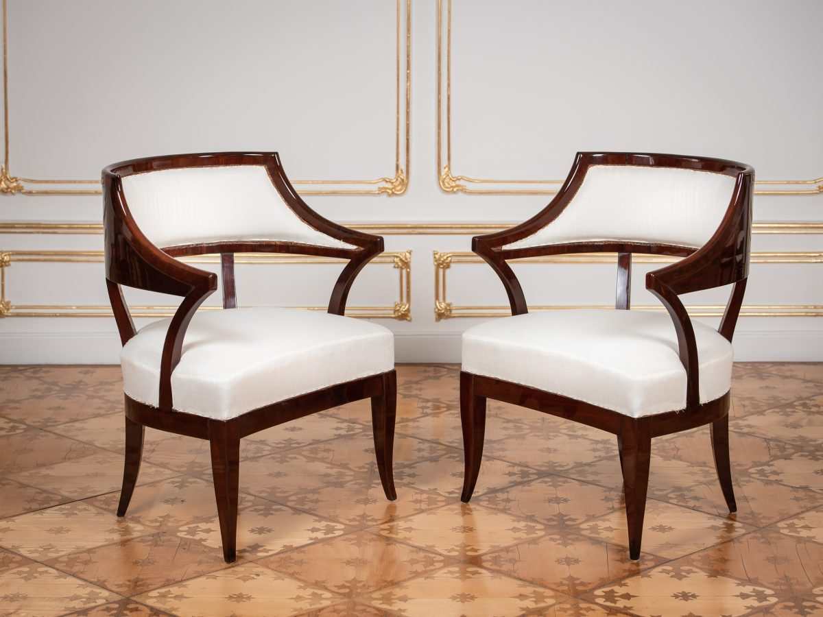 HM Art Deco Stuehlegesamt
